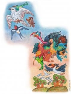 Комракова Е. А. Иллюстрация к сказке