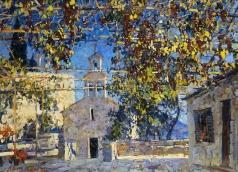 Абакумов М. Г. Черногория, старый монастырь