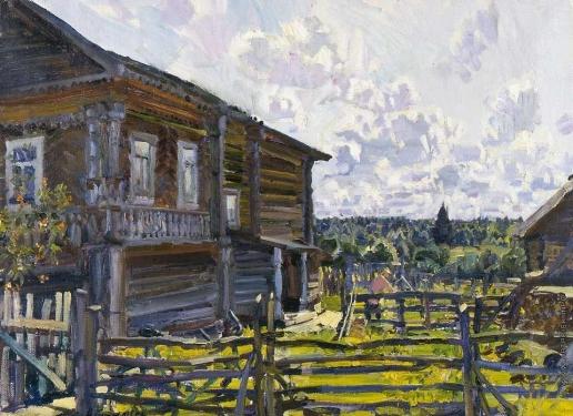 Абакумов М. Г. Лето в деревне Семеновской