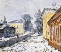 Абакумов М. Г. Тихо на улице Посадской