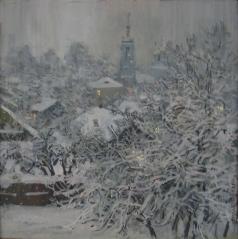 Абакумов М. Г. Заснувший сад