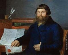 Баженов И. В. Портрет Фёдора Фёдоровича Трапезникова