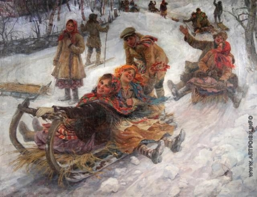 Сычков Ф. В. Катание с гор