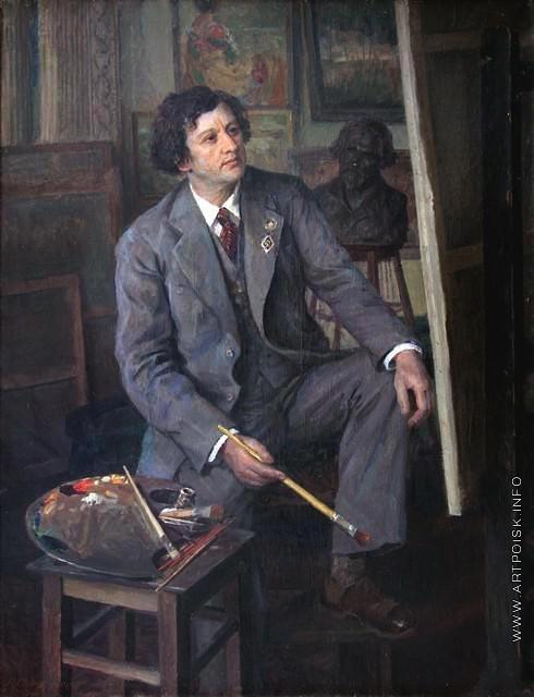 Сычков Ф. В. Портрет художника И.И. Бродского