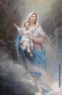 Сычков Ф. В. Мадонна с младенцем