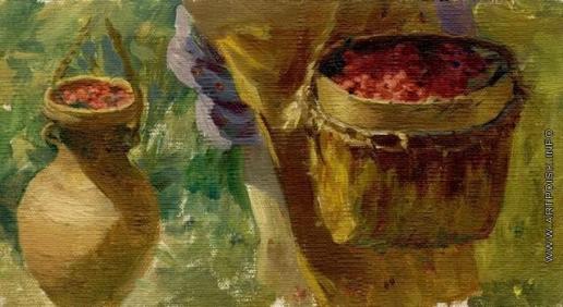Сычков Ф. В. Ягоды. Этюд для картины «Переход ребят через болото»