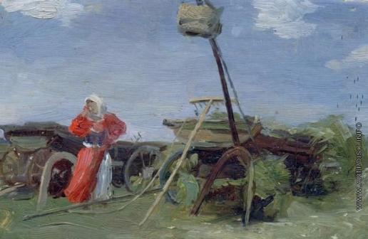 Сычков Ф. В. В поле