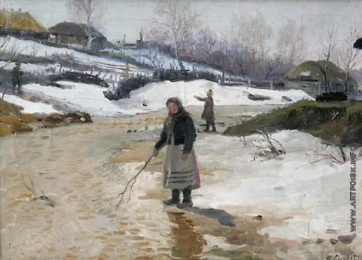 Сычков Ф. В. Весна. Этюд