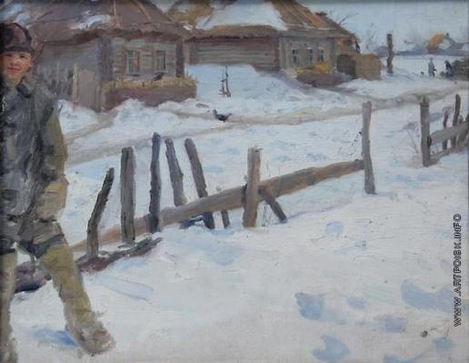 Сычков Ф. В. Зима