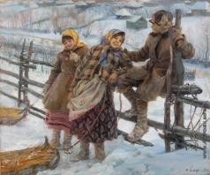 Сычков Ф. В. После катания