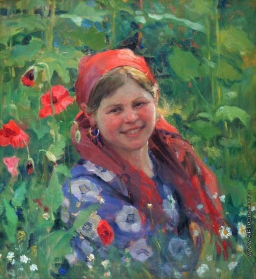 Сычков Ф. В. В цветущем огороде