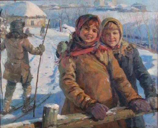 Сычков Ф. В. Зимой