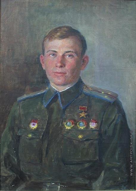 Сычков Ф. В. Герой из Троицка. Портрет А.Г. Котова