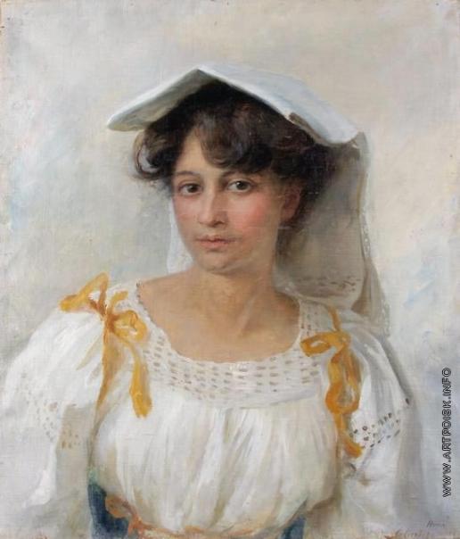 Сычков Ф. В. Девушка-итальянка