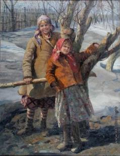 Сычков Ф. В. Весной