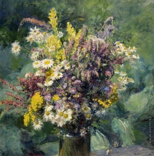 Сычков Ф. В. Полевые цветы