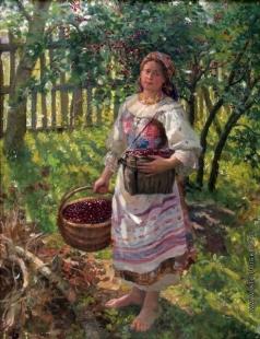 Сычков Ф. В. С вишнями