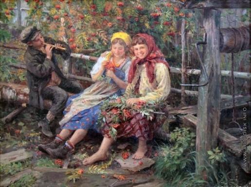 Сычков Ф. В. Под рябиновым кустом