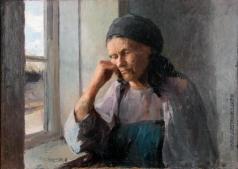 Сычков Ф. В. Мать. Этюд для «Портрета А.И. Сычковой, матери художника»