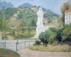 Сычков Ф. В. Ментона. Франция