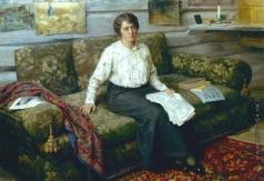 Сычков Ф. В. Портрет Лидии Васильевны Сычковой, жены художника