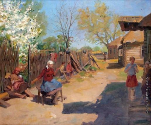 Сычков Ф. В. Весна