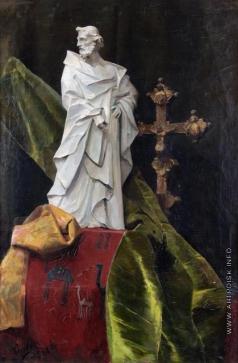 Сычков Ф. В. Натюрморт с крестом