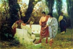 Бакалович С. В. Римский поэт Катулл, читающий друзьям свои произведения