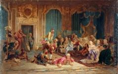 Якоби В. И. Утро Анны Иоанновны. (Шуты при дворе императрицы Анны Иоанновны)