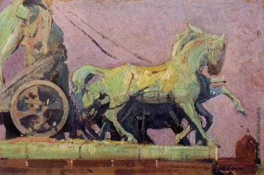 Мясоедов И. Г. Бранденбургские ворота