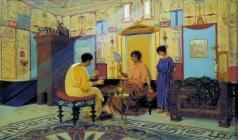 Бакалович С. В. Соседки. Сцена из римской жизни