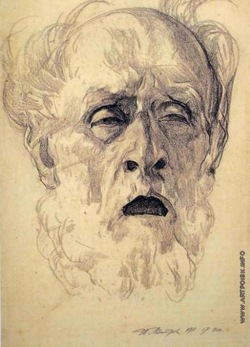 Мясоедов И. Г. Портрет умирающего отца. Агония