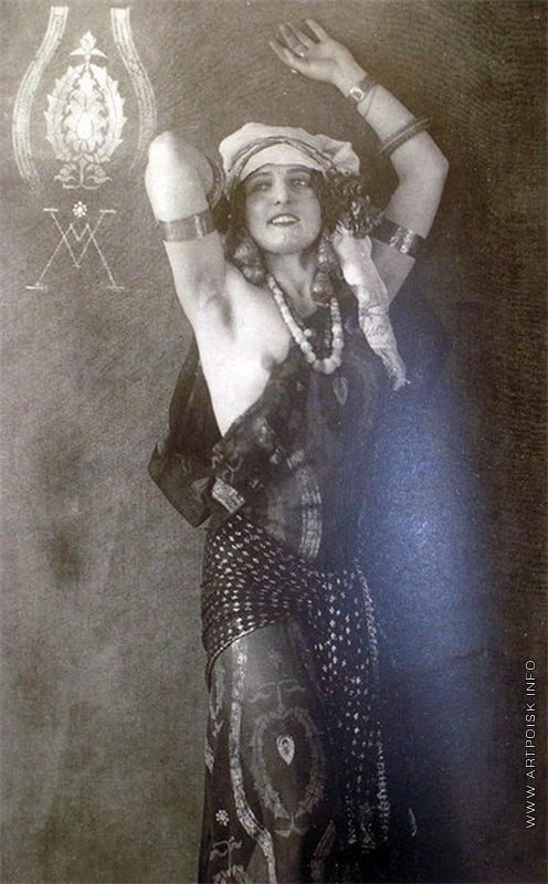 Мясоедов И. Г. Портрет Мальвины Верничи, жены художника.