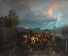 Суходольский П. А. Охота на медведя
