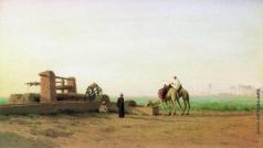 Бакалович С. В. У источника. Алжир