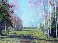 Бакшеев В. Н. В начале весны