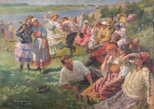 Сычков Ф. В. Праздник