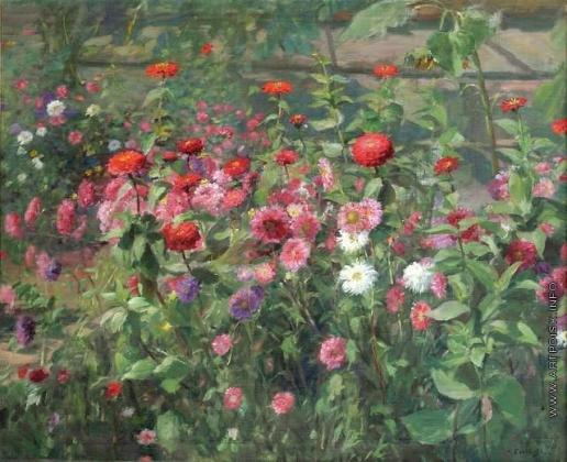 Сычков Ф. В. Цветы
