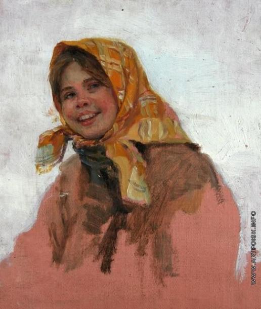 Сычков Ф. В. Головка. Этюд