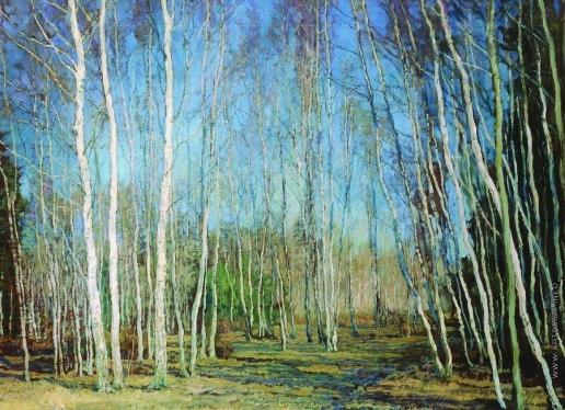Бакшеев В. Н. Голубая весна