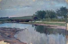 Аладжалов Э. Х. Пруд с плотиной