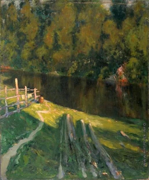 Щербиновский Д. А. Речка в лесу