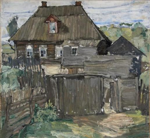 Кравченко А. И. В северной деревне