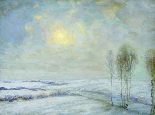 Бакшеев В. Н. Зимний пейзаж