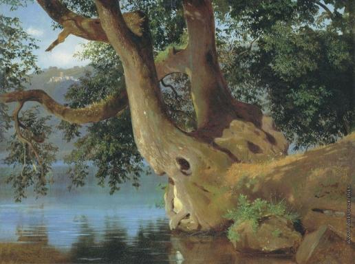 Штернберг В. И. Озеро Неми близ Рима