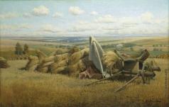 Батурин В. П. Пейзаж со снопами