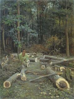 Батурин В. П. Рубка леса