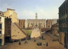 Иванов А. И. Вид на Капитолий в Риме