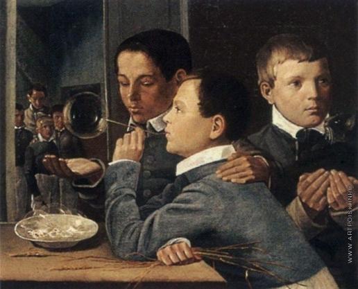 Иванов А. М. Дети, пускающие мыльные пузыри