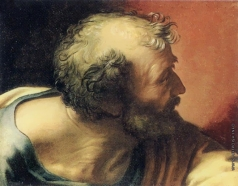 Иванов А. А. Голова апостола с книгой